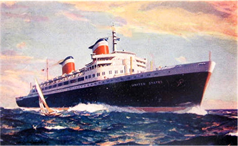 Life Without Airplanes From London To New York In Days And - Can you take a steamer on a cruise ship